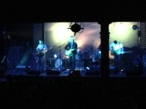 A very fuzzy picture of Lord Huron, but you get the idea